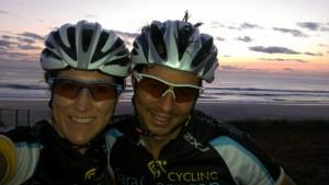 Gold Coast Beach on sunrise
