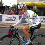 Chloe McConville Australian Cycling Team France